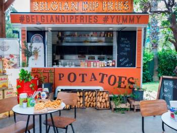 Food Trucks- mobile kitchens from all the world