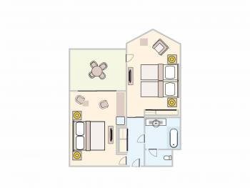 FAMILY SUITE FOR 4 PERSON